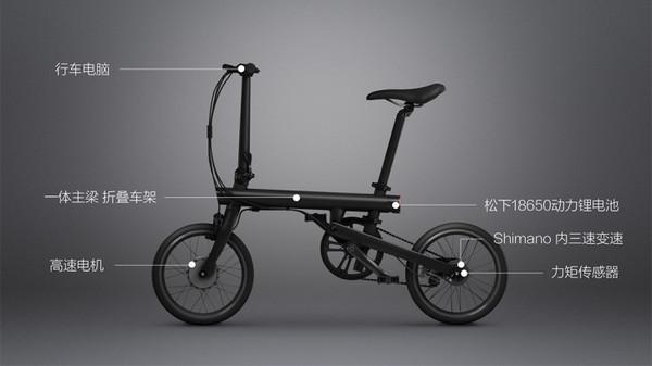 Xiaomi QiCycle, Sepeda Listrik Xiaomi yang Bisa Dilipat