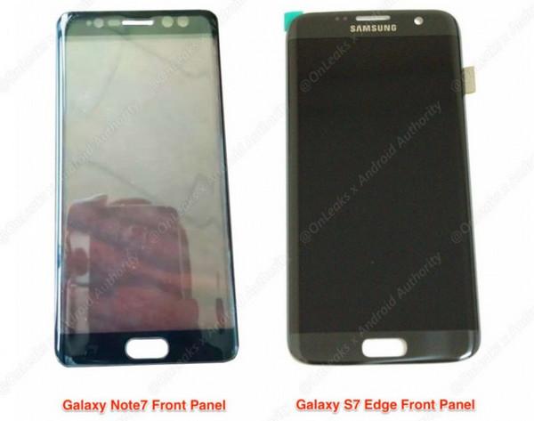 Ini Dia Tampang Samsung Galaxy Note7, Berikut Pemindai Irisnya 2