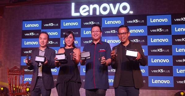 Lenovo Vibe K5 Plus Kini dengan RAM 3GB