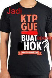 """Meme """"Balikin KTP Gue"""" Gara-gara Ahok Pilih Partai Politik (Trending Twitter) 2"""