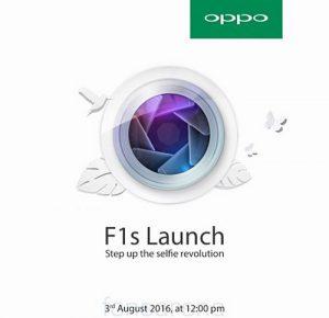 Peluncuran 3 Agustus Oppo F1s Dikonfirmasi