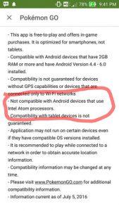 Pokemon Go Tidak Kompatibel dengan ASUS ZenFone 2 dan Ponsel Berprosesor Intel Lainnya 1