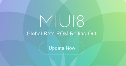 ROM MIUI 8 Global Beta Sudah Tersedia