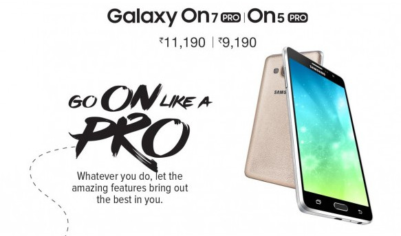 Samsung Galaxy On5 Pro dan On7 Pro Diumumkan