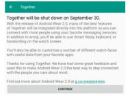 """Android Wear 2.0 Bunuh """"Together"""""""