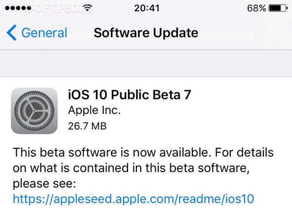 Apple Rilis iOS 10 Beta 8 untuk Developer, Beta 7 untuk Publik