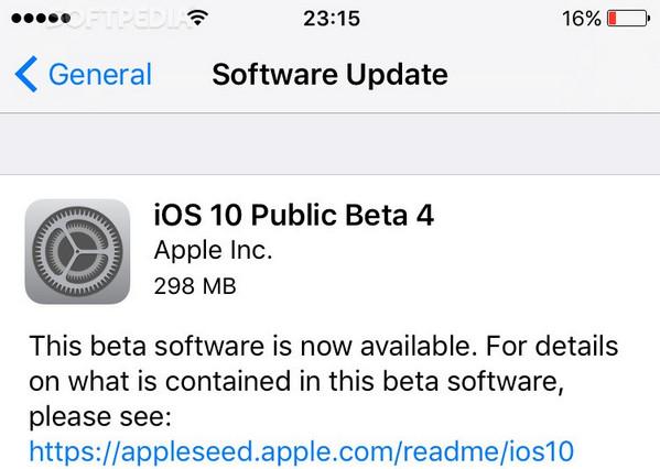 Apple Rilis iOS 10 Public Beta 4 Bersama MacOS 10.12
