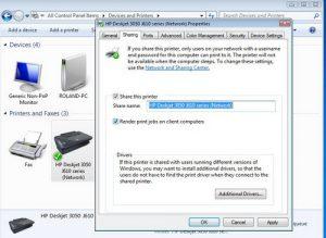 Cara Sharing Printer di Windows 7, XP, & Windows 10 Melalui Wi-Fi LAN