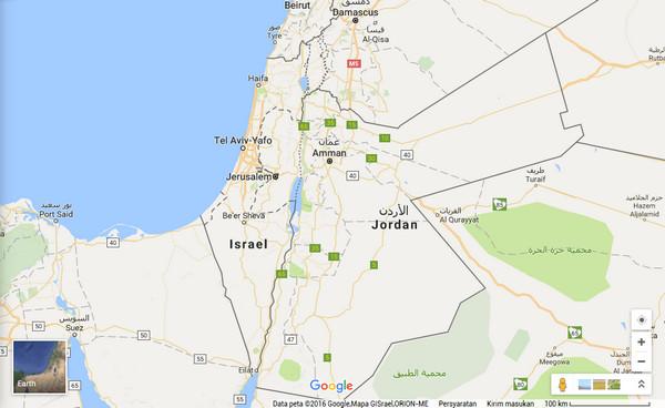 Palestina Dihapus dari Google Maps dan Diganti Israel