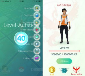 Pokemon Go Level 40, Level Tertinggi di Pokemon Go 1