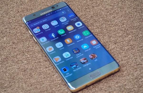 Update Android 7.0 Nougat untuk Samsung Galaxy Note 7 Digulirkan 2-3 Bulan Lagi