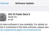 iOS 10 Beta 5 Diluncurkan ke Publik, Beta 6 Rilis untuk Developer