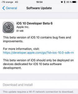 iOS 10 Beta 5 Diluncurkan ke Publik, Beta 6 Rilis untuk Developer 2