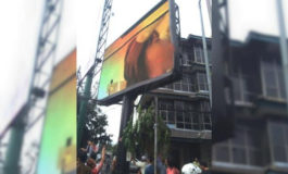 Bukan Iklan, Videotron Jakarta Selatan (Kebayoran Baru) Ini Malah Tayangkan Video Bokep