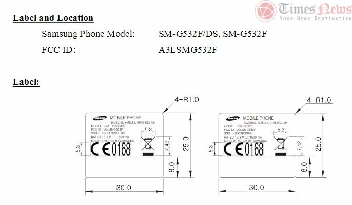 Giliran FCC Sertifikasi Samsung Galaxy Grand Prime (2016)