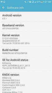 Samsung Galaxy A3 (2016) di Indonesia Dapatkan Update Android 6.0.1 Marshmallow