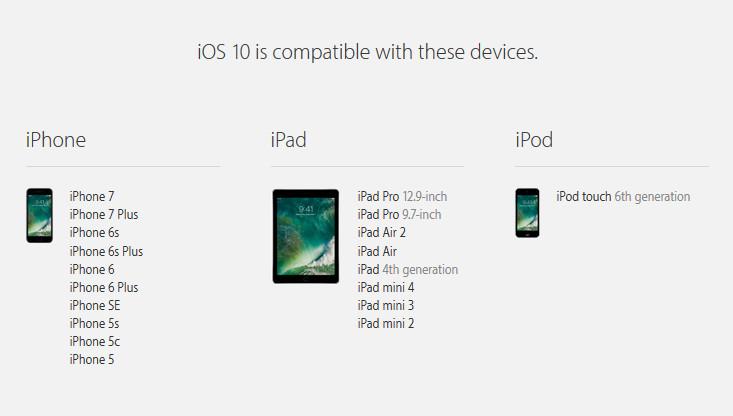 iOS 10 Rilis Besok di Indonesia, Ini Daftar Perangkat yang Kompatibel