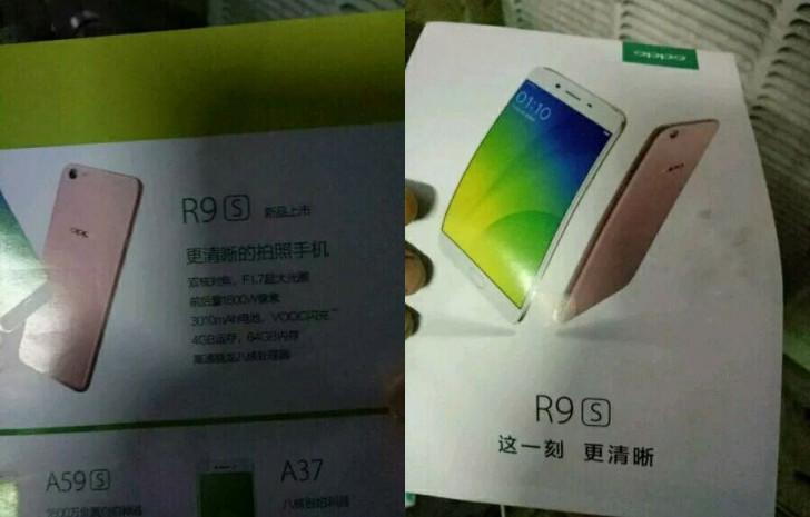 Pamflet Ungkap Oppo R9s Bawa Baterai 3.010mAh