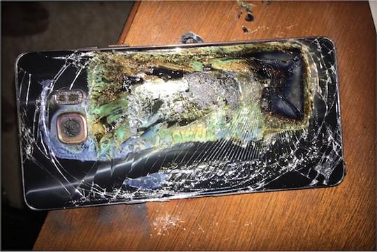 Samsung Galaxy Note 7 Kembali Terbakar Hari ini di Virginia