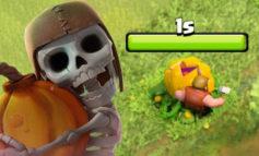 Scary Pumpkin, Labu Menakutkan di COC untuk Peringati Haloween