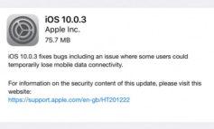 Update iOS 10.0.3 untuk iPhone 7 dan iPhone 7 Plus Perbaiki Masalah Konektivitas Seluler