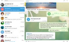 Download Telegram Messenger untuk PC Desktop & Laptop Windows, MacOS & Linux, Versi 1.0 Telah Dirilis