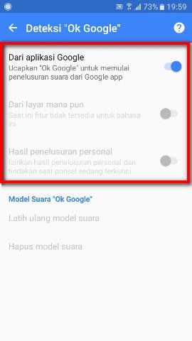 Bagaimana Mengaktifkan OK Google