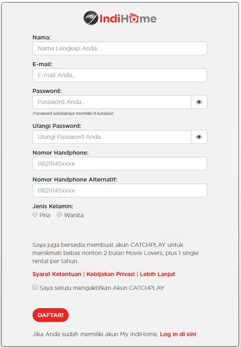 Cara Memasang Telkom IndiHome di Rumah Secara Online 5