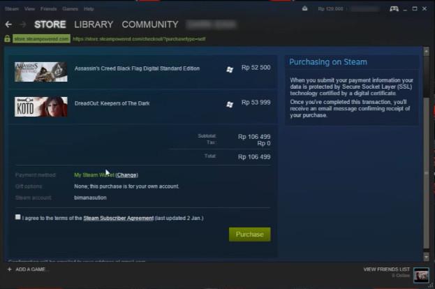 Cara Redeem Steam Wallet 4