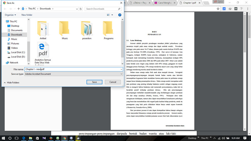cara membuka PDF yang terkunci