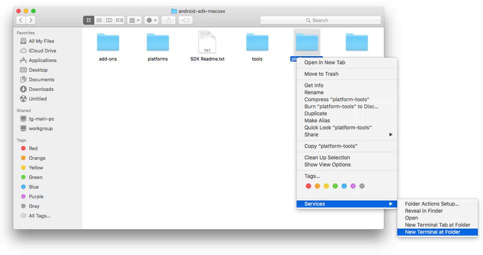 ADB - di OS X