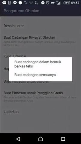 Backup chat line 6