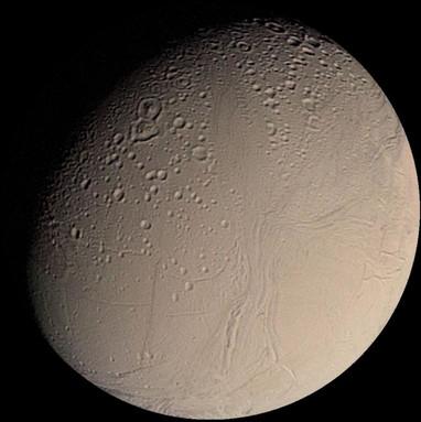 Cassini Temukan Kemungkinan Kehidupan di Bulan Saturnus (Enceladus)