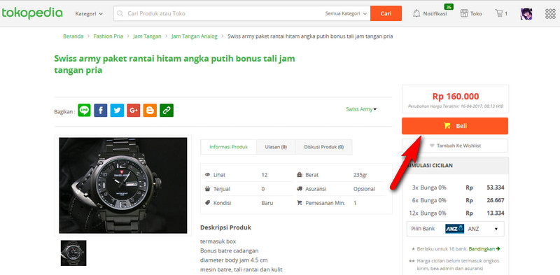 Kredit Tokopedia 1