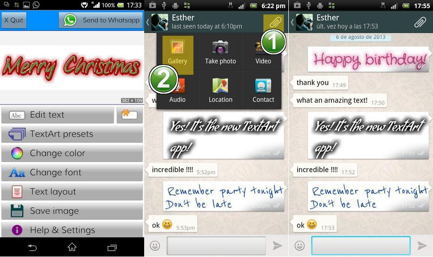 Membuat Tulisan Berwarna di WhatsApp dengan TextArt