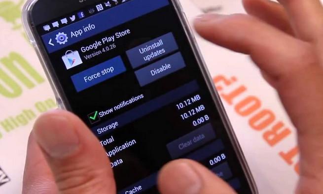 Paksa Berhenti Google Play Store
