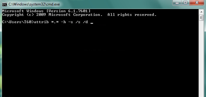 Solusi File Hilang Tanpa Bantuan Software