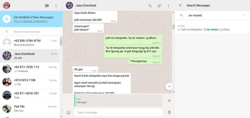 WhatsApp Web 7