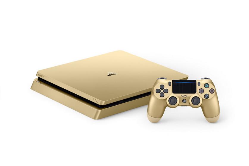 Sony Umumkan PlayStation 4 Slim Warna Silver dan Emas