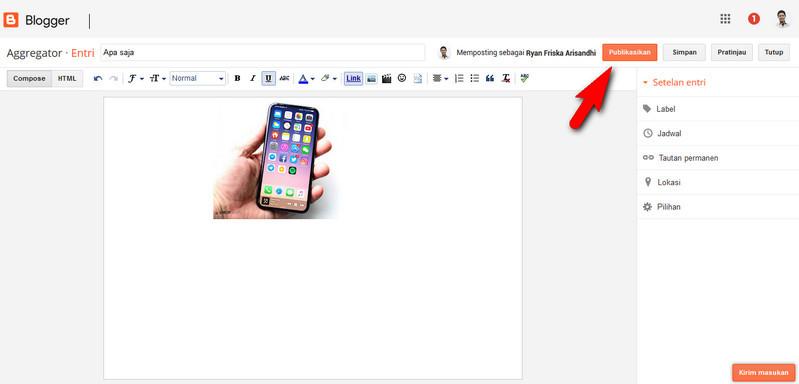 cara memasukkan foto ke google 5