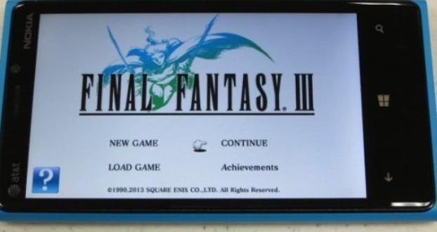 Final Fantasy III di Windows Phone