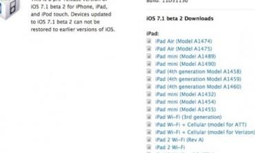 Developer Terima iOS 7.1 beta 2 Dari Apple