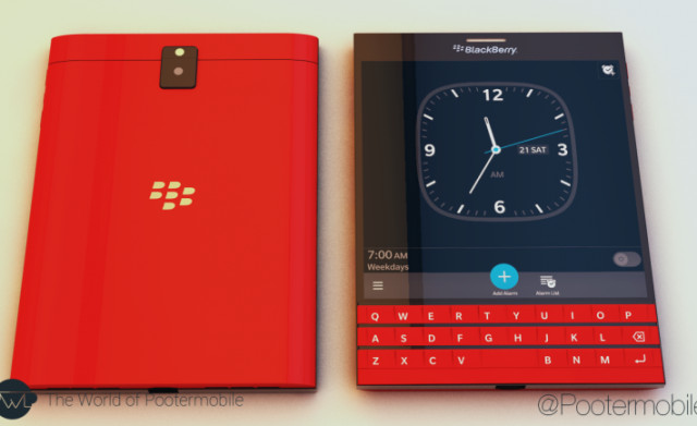 Blackberry Passport Warna Merah