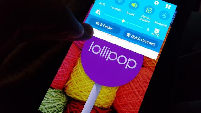 Android 5.0 Lollipop di Samsung Galaxy Note 4 1