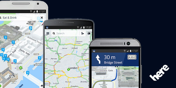 Aplikasi HERE Maps Untuk iOS