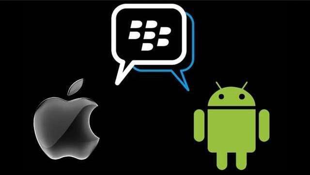 BBM di iOS dan Android
