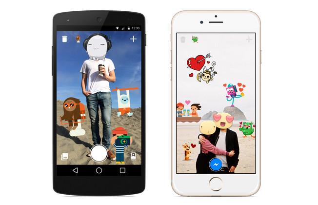 Sticker di Aplikasi Facebook Messenger di Android dan iOS