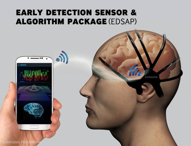 Alat pendeteksi stroke Samsung