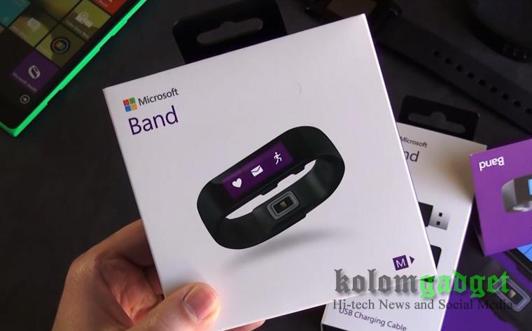 Box Microsoft Band