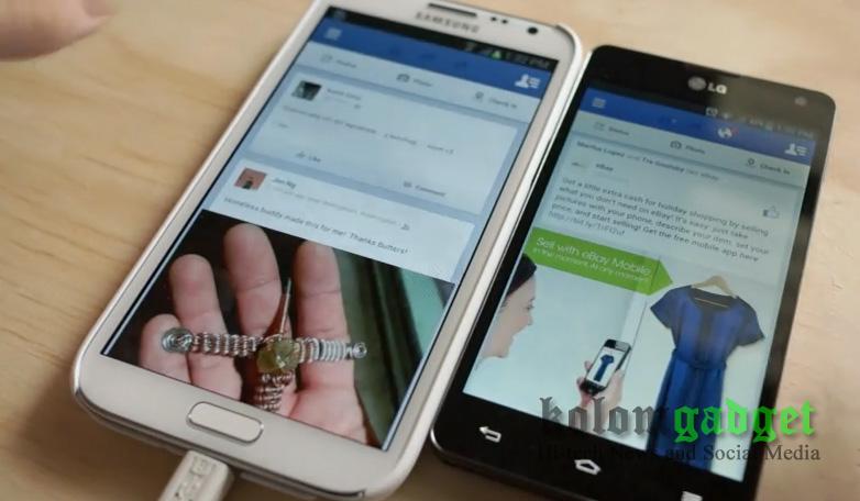 Facebook di Android